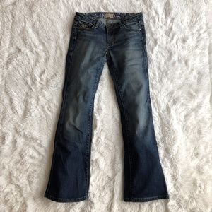 EUC Paige Hollywood Hills Bootcut Jeans size 28