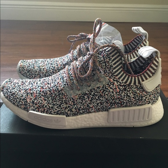 best sneakers 78bad 6d515 Adidas colour static NMD multicolor NWT