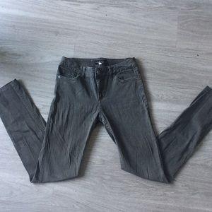 Denim - Olive Skinny Jeans