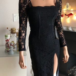 🌷TOP SHOP🌷sexy lace fitted dress