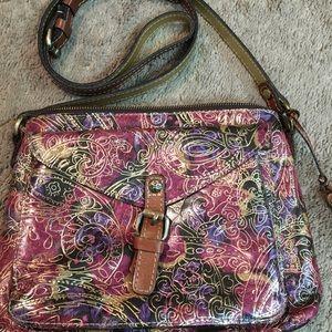 Patricia Nash crossbody bag / shoulder bag