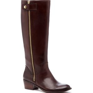 Sole Society Leather Bria Riding Boots