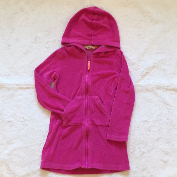 550ca1871d926 Lands' End Swim | Lands End Terry Cloth Jacket Size 4 | Poshmark