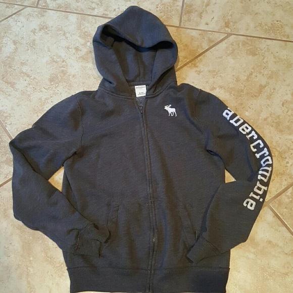8984e841adfe Abercombie Kids Other - Abercrombie Kids Boys Grey Fleece Jacket