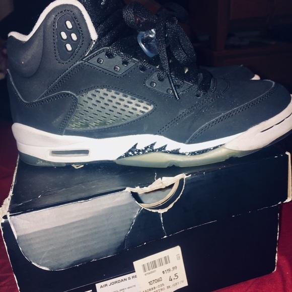 Jordan Shoes | Oreo Jordan 5s Size 45