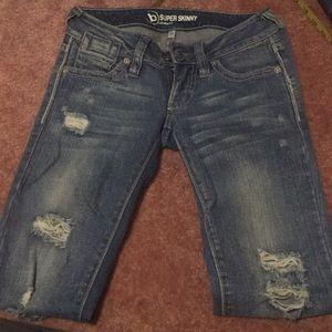 Pacsun super skinny jeans