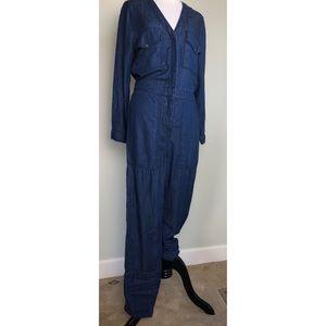 H&M Chambray Jumpsuit Size 4
