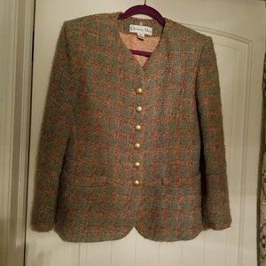Jacket Christian Dior size 6