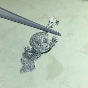 Jewelry - Casper Custom Made 1/2 CT Diamond 10k White Gold.