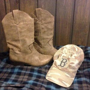 🎀Brown Cowgirl Boots size 8
