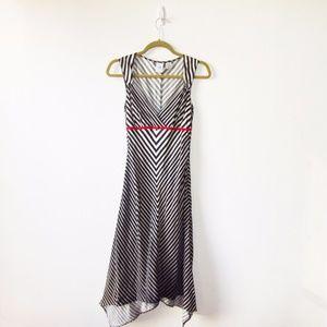 ARMANI EXCHANGE Silk Twill Sleeveless Dress Small