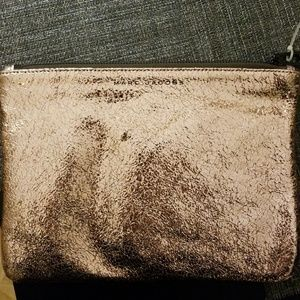 Marc Jacobs rose gold clutch/pouch