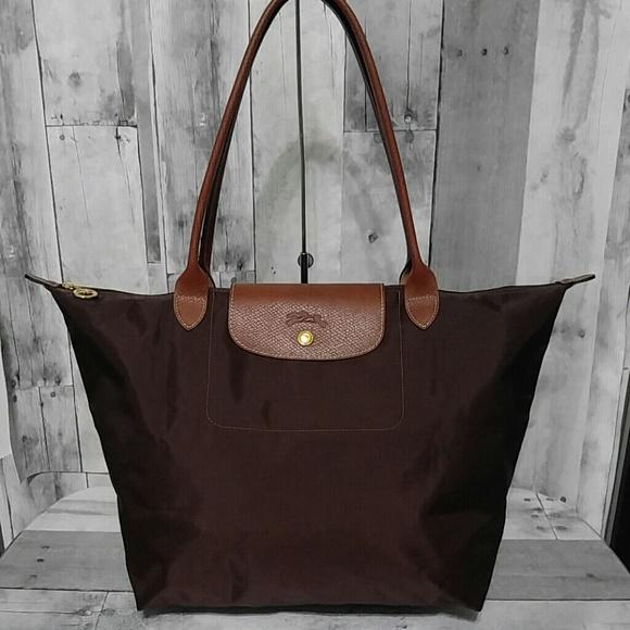 c1179d5868e6 Longchamp Handbags - Large Longchamp Le Pliage Nylon Bag