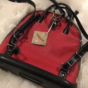 Dooney & Bourke Toiney Leather Zip Top Backpack