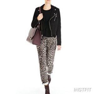 Rag & Bone Snow Leopard Jeans 27 FIRM