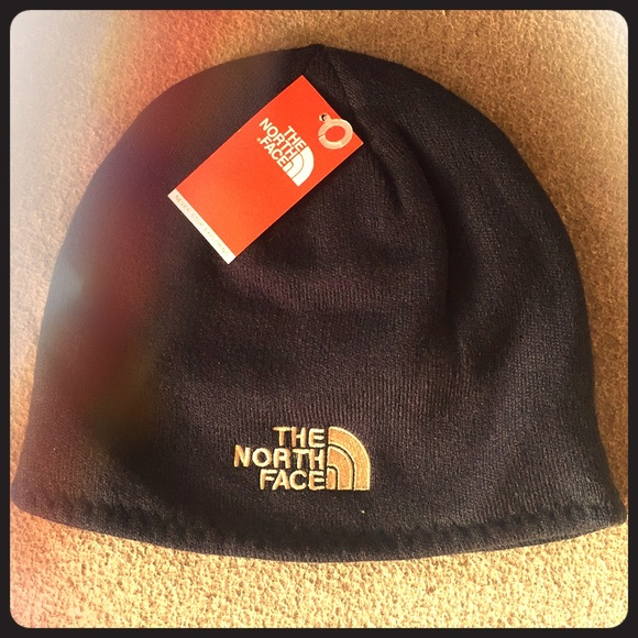 06476672598 The North Face Reversible Beanie Navy