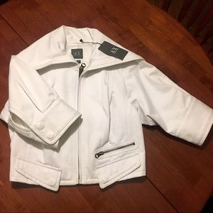 A/X ARMANI EXCHANGE  Luxe Crop Jacket (M)