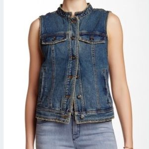 Free People Denim Vest
