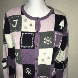NWT Christopher & Banks Christmas Sweater M