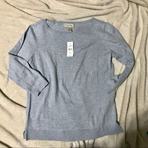 Brand new light blue sweater