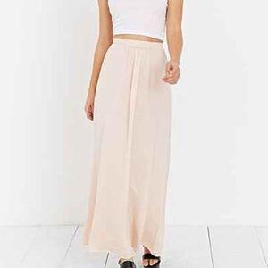 Blush Maxi Skirt