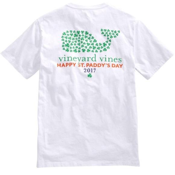 aac490b4d Vineyard Vines St. Patrick's Day SS T-Shirt. M_5a29cd97c6c7958a3f02abcf