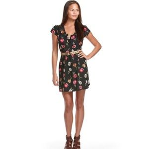 Tucker for target floral dress size small