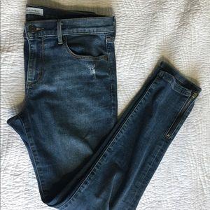 LIKE NEW Banana Republic Midrise Ankle Jeans
