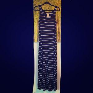 Super comfy striped maxi dress