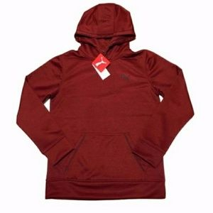Boys Puma Fierce Red Hoodie