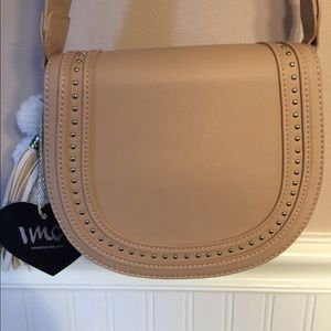 Handbags - Cream crossbody/ shoulder bag 
