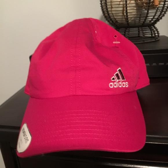 adidas Accessories - Women s Hot Pink Ball Cap 🧢 422acf4925