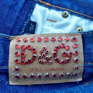 D & G!  ITALY SIZE 24 SEXY AS H- AWESOME CONDITION