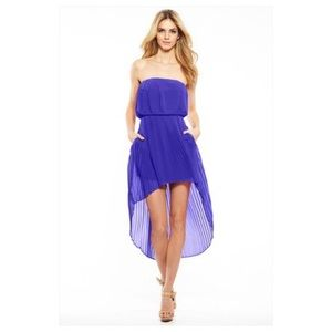 BCBGeneration High Low Dress with Pockets