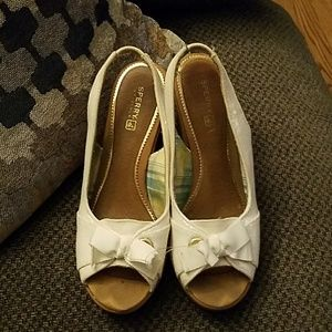 Sperry top sider wedge shoe
