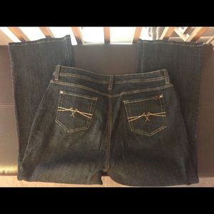 Like new Jeanstar 20W Black Denim Bootcut Jeans