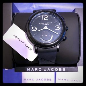 723a36aa6 Marc Jacobs Accessories - MARC JACOBS Riley Hybrid Smartwatch Black Watch