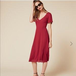 NWT Ophelia Dress in Raspberry, sz 8