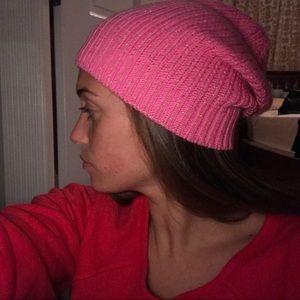 Hot Pink Sparkling Beanie