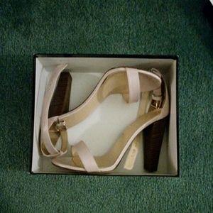 J.Crew Lanie Stacked Heel Sandal size US12
