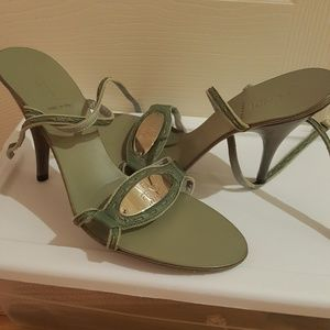 Authentic fendi heels worn once