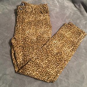 Kardashian Kollection leopard print jeans size 16
