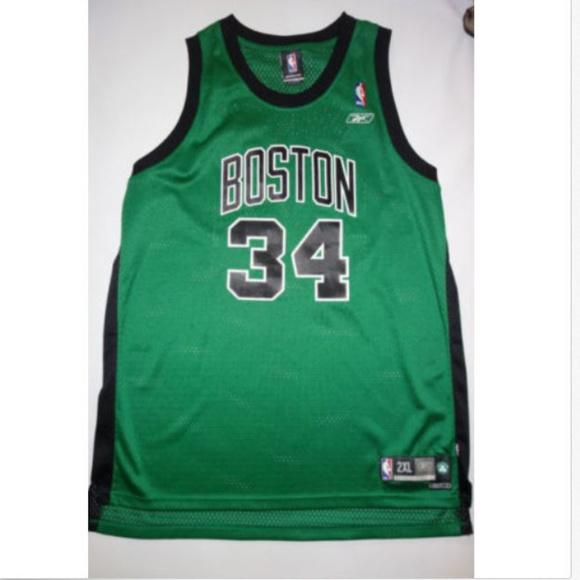 a3d9d07a9 Boston Celtics Jersey Reebok  34 Paul Pierce NBA. M 5a29eb07bf6df5e5d0005b41