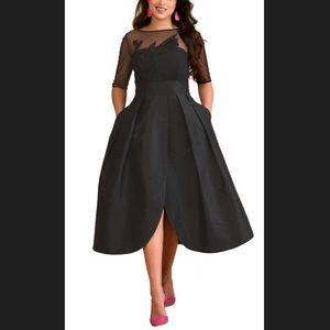 New Eshakti Fit & Flare Cocktail Dress M 8