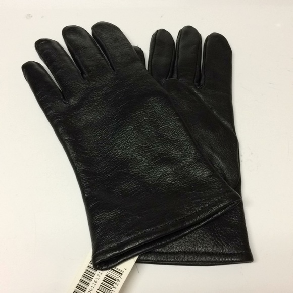 Military Issue Black Leather Dress Gloves 6bcf72c71ee