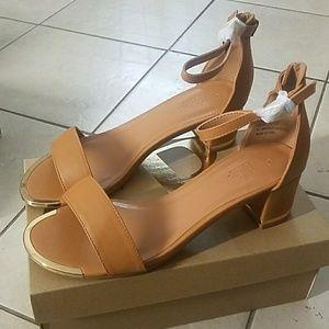 Metal Trim Sandals