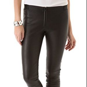 Alice & Olivia leather pants