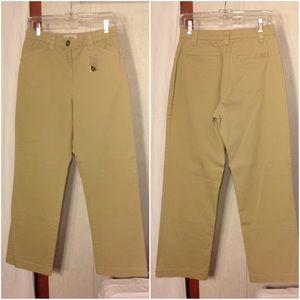 NWOT Women's Beige L. L. Bean Classic Fit Pants