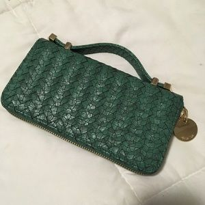 """""""Deux lux"""" wallet/clutch.  Brand new, never used"""