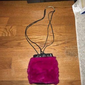 PINK FOLEY + CORINNA  SHOULDER BAG